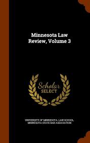 Minnesota Law Review